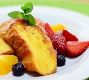 柚子シロップアレンジレシピ①『柚子香るフレンチトースト』
