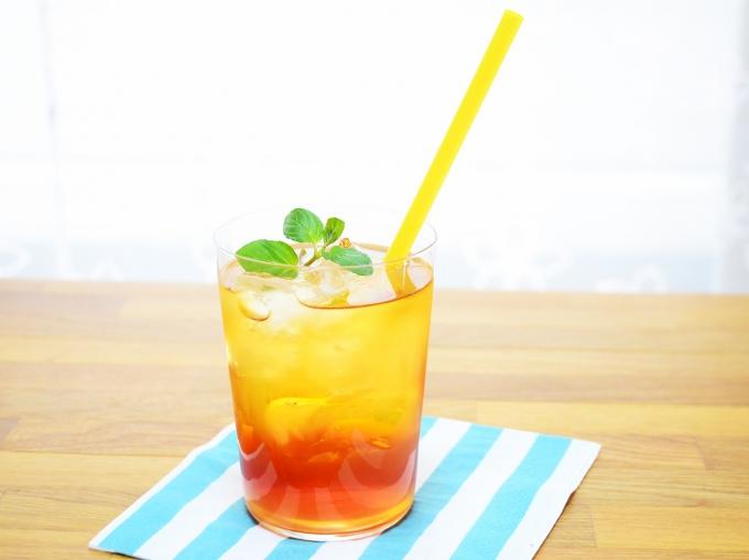 柚子ティーソーダ